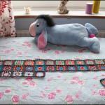 Mit hæklede tæppe projekt: 13.11.2012 – hæklet 48 firkanter
