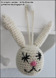 Hæklet kanin