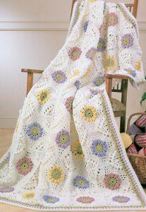Blomster buket tæppe