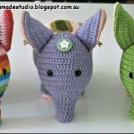 Elefant i tre versioner