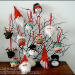 Kuglerundt og sjovt Julepynt