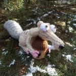Egernet Scrat & nødden