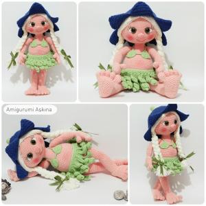 Hawaii Doll fra Amigurumi Askina