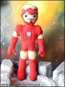 Iron Man - dansk hækleopskrift