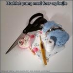 Vejledning – DEL 1 – hæklet pung med foer og bøjle