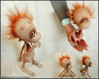 Baby abe - Amigurumi Hækle Opskrift