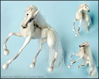 Hesten White dream - Amigurumi Hækle Opskrift