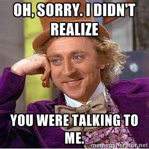 Snakker du til mig