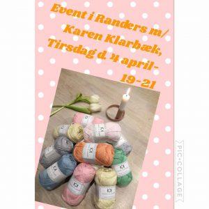 Karen Klarbæk - arrangement i Randers