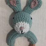 Kaninrangle - hæklet af Daphne Gabel