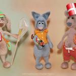 Ny hækleopskrift fra Little Owls Hut! Hare – Kat og Bjørn