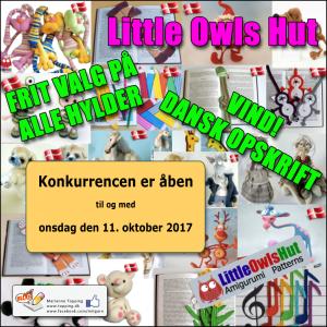 Konkurrence! Little Owls Hut hækleopskrifter - Frit valg