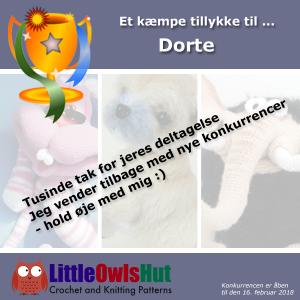 Tillykke til vinderen af Little Owls Hut konkurrence