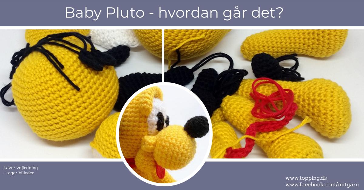 Baby Pluto, gratis, dansk hækleopskrift