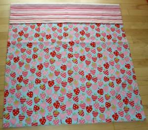 Sengetøj Jordbær