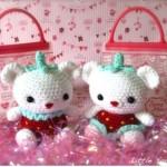 "Lille Jordbær Bamser | Lil' Straw""BEAR""ries"