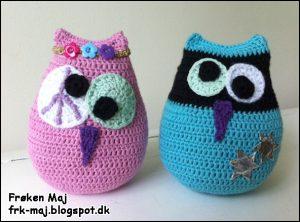 Dizzi Owl - Rundtosset ugle