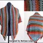 Sjal – Bonita Crocheted Openwork Shawl