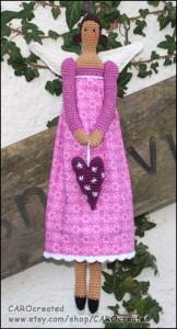 Hæklet Tilda dukke