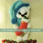 Slemme, Små Jule Bamser af Tales of Twisted Fibers
