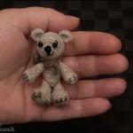 Miniature bamse til Mor
