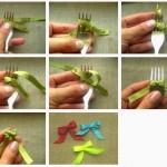 Sådan binder du meget små sløjfer
