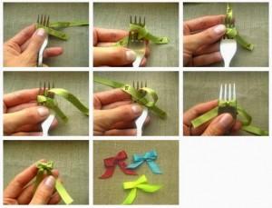 Sådan binder du små sløjfer