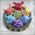 Ugler i rede fra Moji-Moji Design