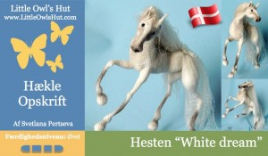 Hesten White Dream fra Little Owls Hut