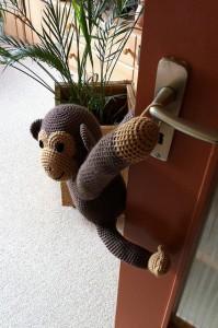 Pablo, dør-aben