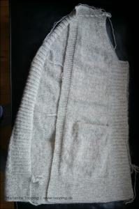 Min jakken - ryg og forstykke