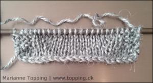 Thistle sjalet - udtagninger
