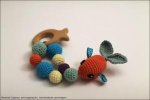 Fiskerangle med raslebolde