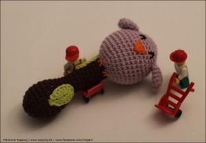 Rangle med fugl, prototype 2
