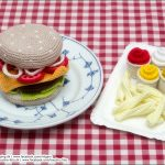 Burger med fritter - så er der serveret unger