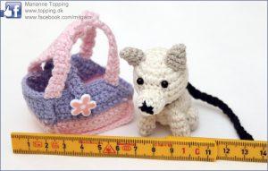Miniature hund i taske