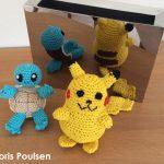 Pikachu hækleopskrift, af Doris Poulsen