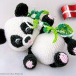 Panda – dansk hækleopskrift fra Little Owls Hut