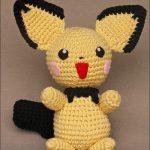 Pichu – Pokémon hækleopskrift