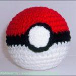 Pokeball – Pokémon hækleopskrift