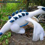 Lugia – Pokémon hækleopskrift