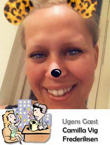 Ugens Gæst - Camilla Vig Frederiksen
