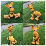 Amalka giraffen af Pia Thomsen