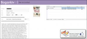 Laver min egen bog database