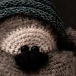 Albert, den nuttede bamse – hæklet bamse
