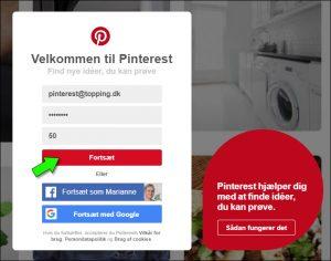 Pinterest - sådan opretter du en konto og laver de vigtigste indstillinger.